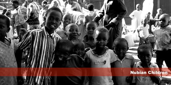 Nubian children