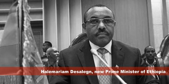 Halemariam Desalegn, new Prime Minister of Ethiopia