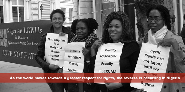 As the world moves towards a greater respect for rights, the reverse is occurring in Nigeria