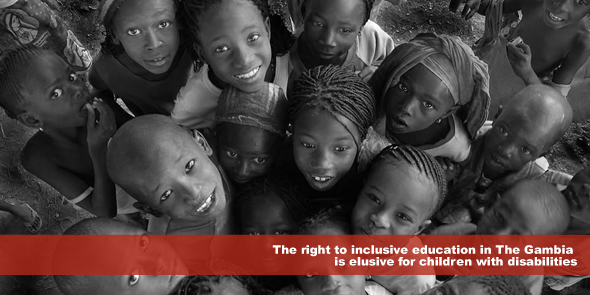 The right to inclusive education in The Gambia is elusive for children with disabilities.